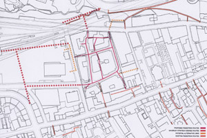 new street plan - routes